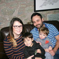 Amanda Jenner & family