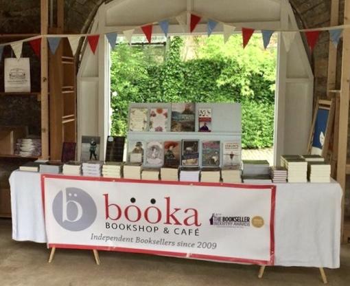 Booka Bookshop's 'pop-up' bookshop at Monty Lit Fest 2018